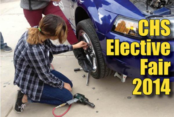 CHS Elective Fair 2014