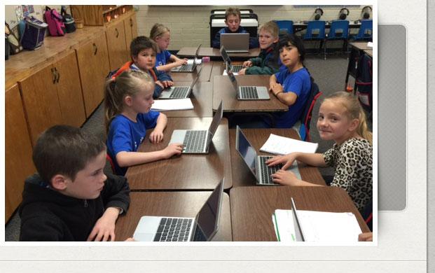 kids at computers