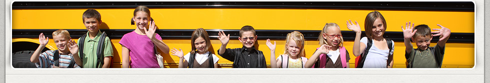 students and the bus