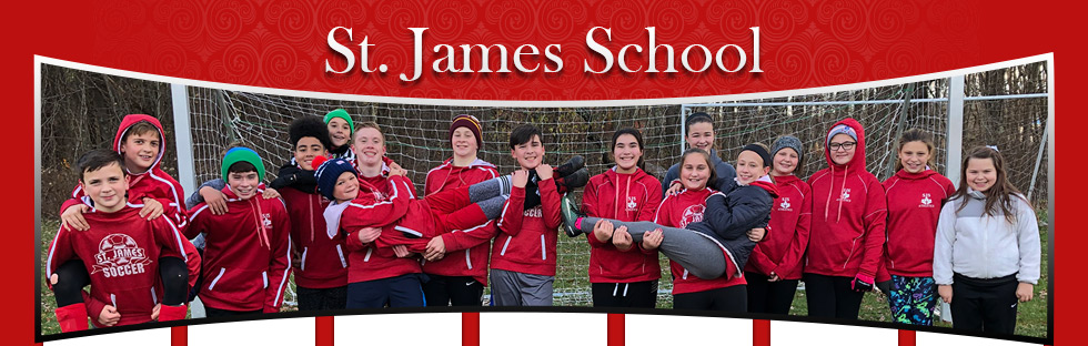 St. James School students