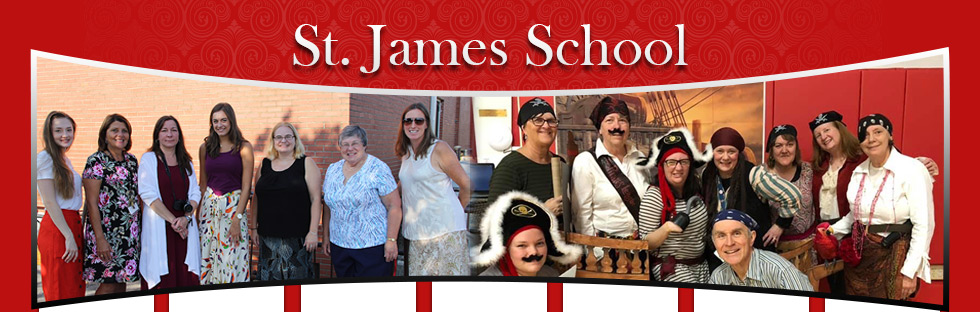 St. James School staff members