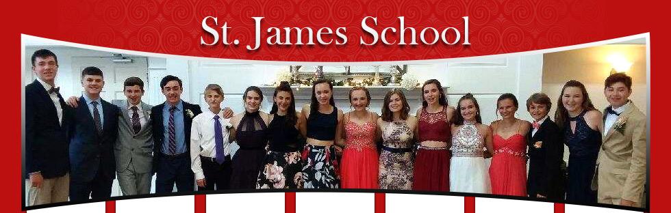 students in formal wear