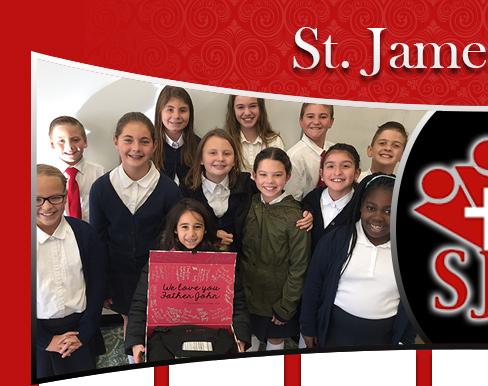 St. James students