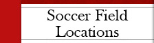Soccer Field Locations