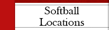 Softball Locations