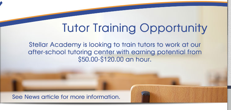 Tutoring Training Opportunity