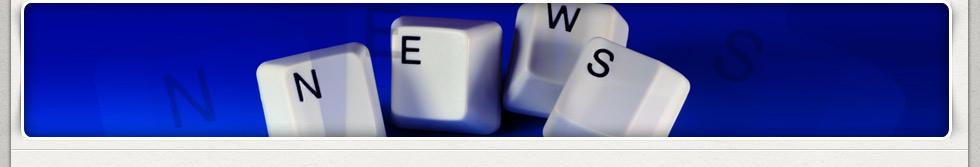 Keyboard keys spelling news