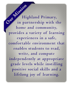 Highland Primary mission statement