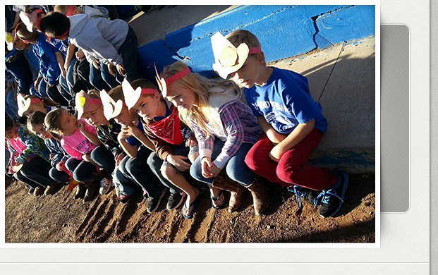 Kindergarteners Learn the Cowboy Way