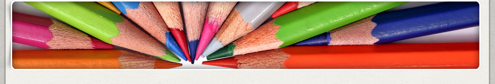 Coloring Pencils Close-up