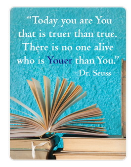 Quote by Dr. Seuss, Open Book