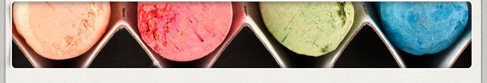 Close-up of Chalk