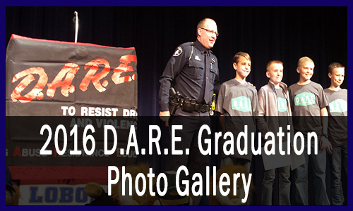 2016 DARE Graduation Photo Gallery