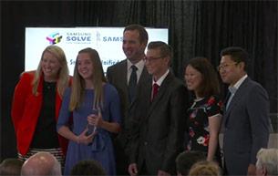 Junior High Wins National Samsung STEM Contest
