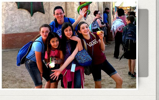 6th Grade Renaissance Festival Trip