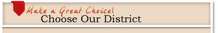 Choose Our District