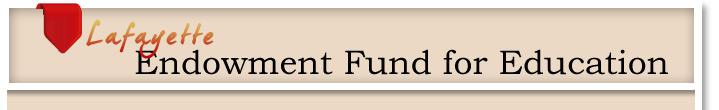 Lafayette endowment fund