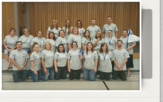 Staff picture first day of school