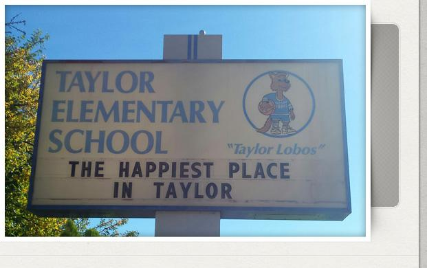 The Happiest Place In Taylor