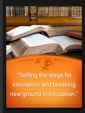 """Setting the stage for innovation and breaking new ground."""