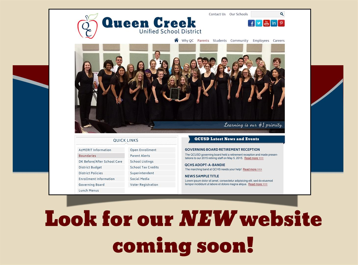 Look for our NEW website coming soon!