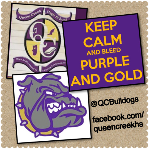 Visit Queen Creek High School's Facebook page