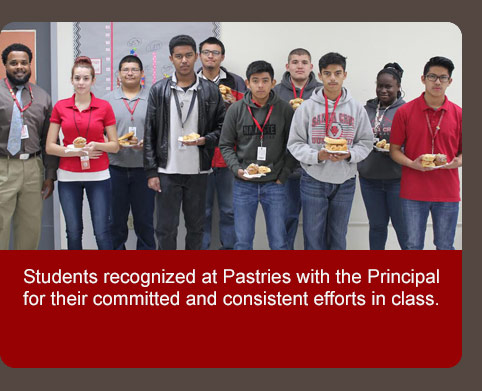 Pastries with the principal