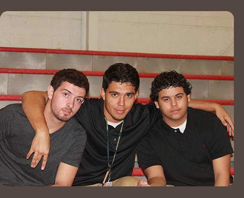 Three Male Students