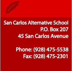 San Carlos Alternative School Address