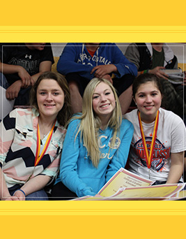 Valley R-VI Students Smiling