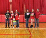 Junior High volleyball team