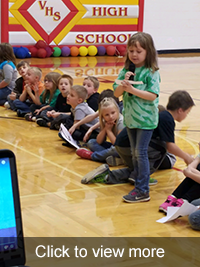 First Graders Led Leader Assembly Photos