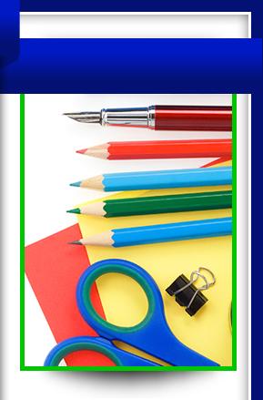 paper, scissors, and pencils