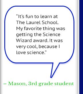 Mason, 3rd grade student