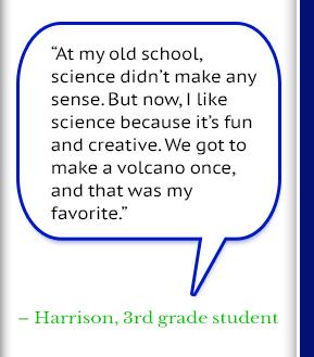 Harrison, 3rd Grade Student
