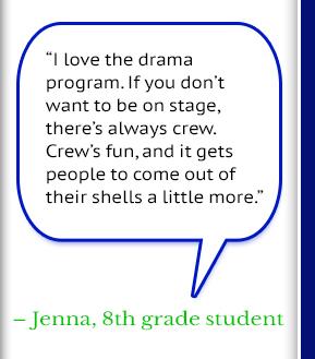 Jenna, 8th grade student Quote