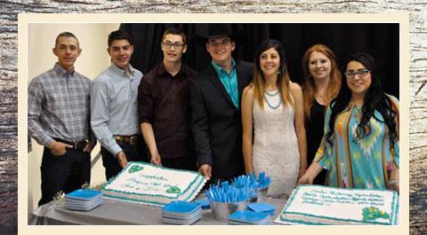 Staff and Cake