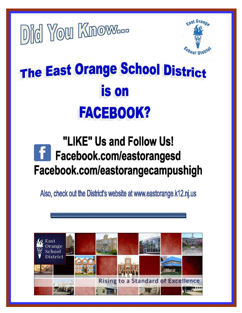 East Orange is on Facebook