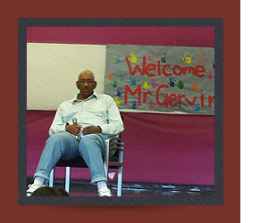 Welcome Mr. Gervin
