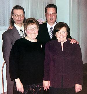 James Goochee with family