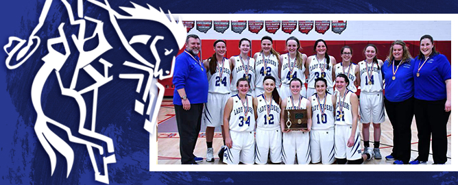 Girls Basketball Team - district champions