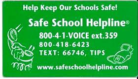 School Helpline