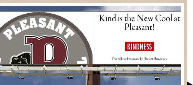 Kindness Billboard