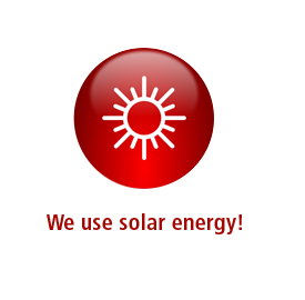 We use solar energy