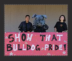 Show that Bulldog Pride