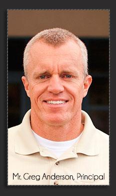 Mr. Greg Anderson, Principal
