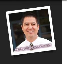 Mr. Mark Thompson, Principal