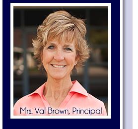 Mrs. Val Brown, Principal