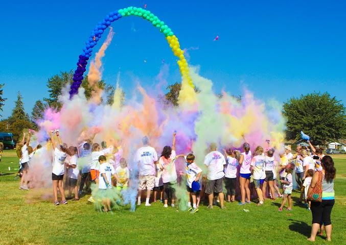 Family Color Run