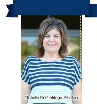 Michelle McPhetridge, Principal